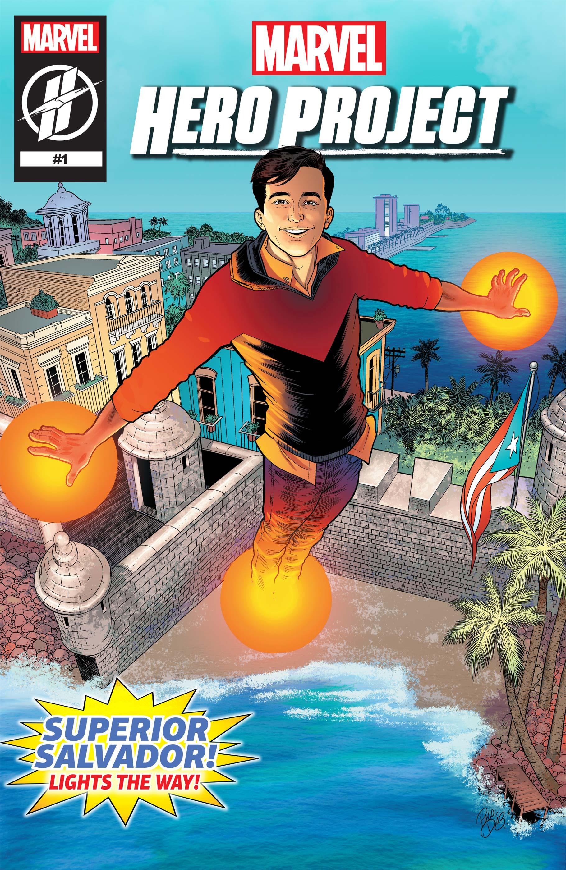 MARVEL'S HERO PROJECT SEASON 1: SUPERIOR SALVADOR (2019) #1