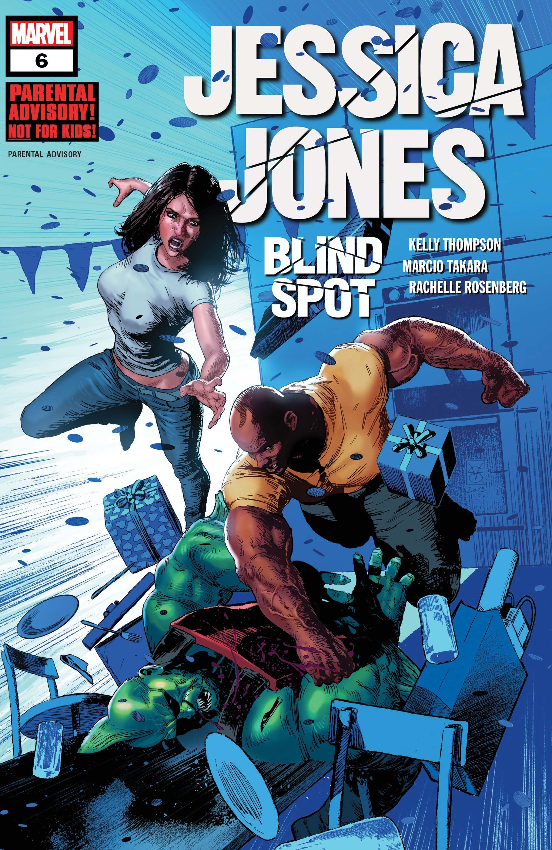 Jessica Jones: Blind Spot (2020) #6