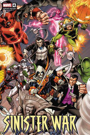 Sinister War (2021) #4 (Variant)