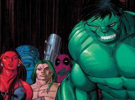 World War Hulks #1 cover by John Romita Jr.