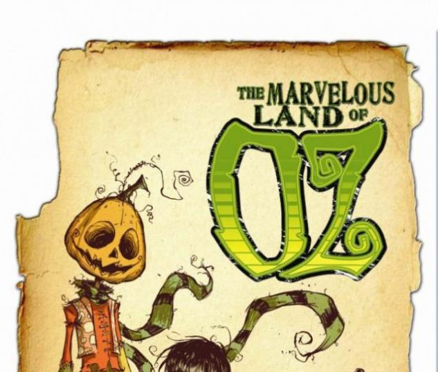 The Marvelous Land of Oz (2009) #1 (2ND PRINTING VARIANT)
