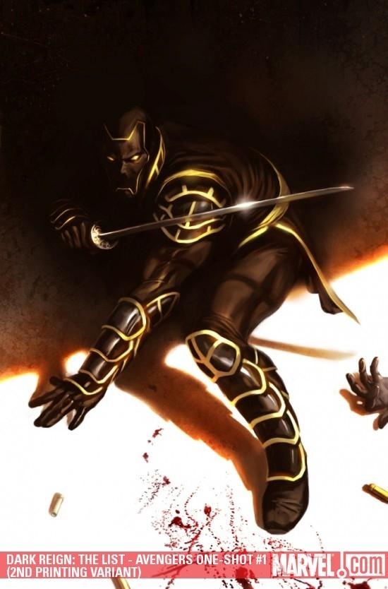 Dark Reign: The List - Avengers (2009) #1 (2ND PRINTING VARIANT)