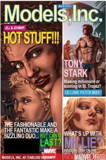Models, Inc. (2009) #2 (TABLOID VARIANT)