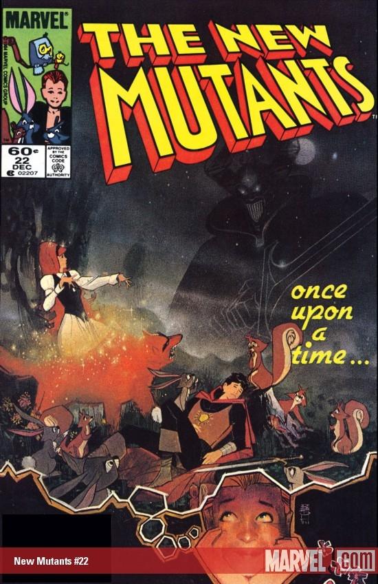 New Mutants (1983) #22