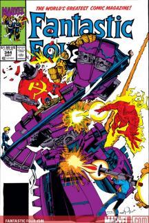 Fantastic Four #344