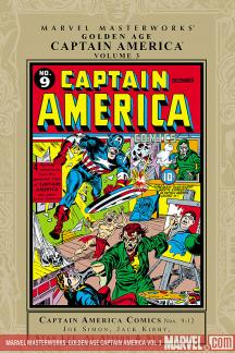 Marvel Masterworks: Golden Age Captain America Vol. 3 (Hardcover)