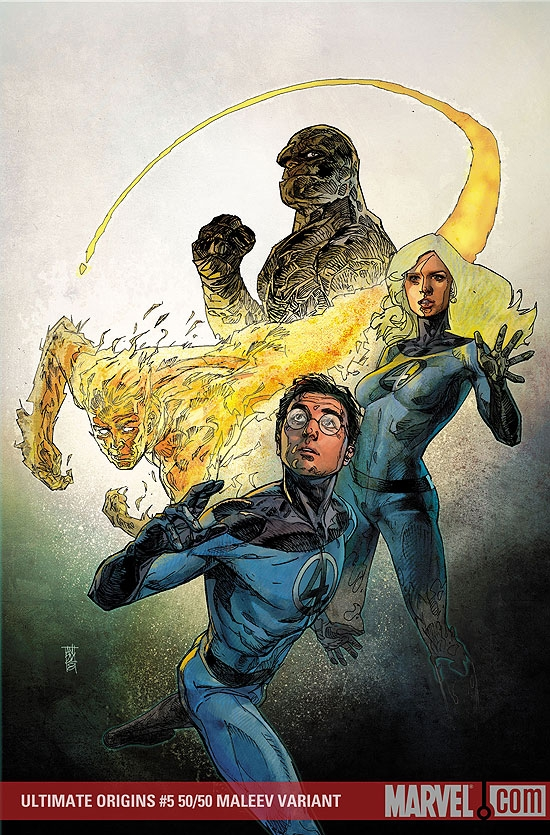 Ultimate Origins (2007) #5 (MALEEV (50/50 COVER))