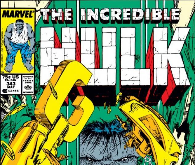INCREDIBLE HULK (2009) #343 COVER