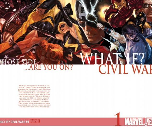 WHAT IF? CIVIL WAR #1