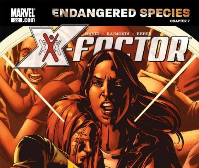 X-MEN: ENDANGERED SPECIES BACK-UP STORY #7