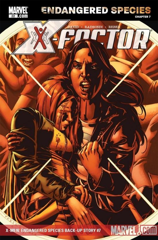 X-Men: Endangered Species Back-Up Story (2007) #7