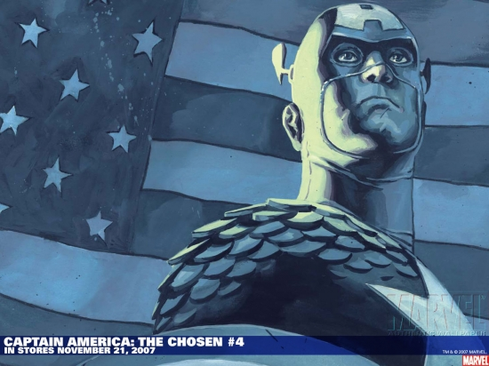 Captain America: The Chosen (2007) #4 Wallpaper