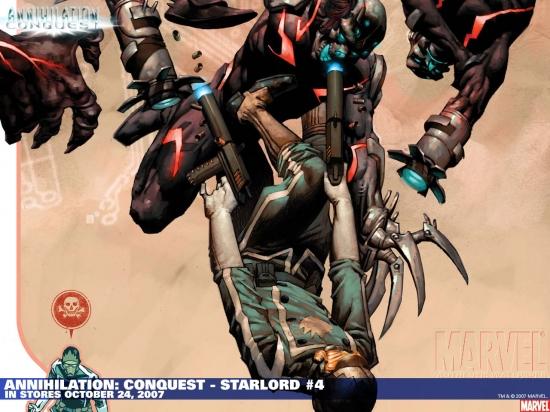 Annihilation: Conquest - Starlord (2007) #4 Wallpaper