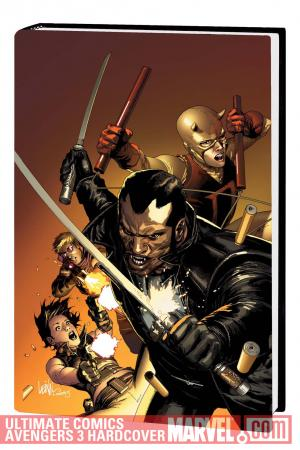 ULTIMATE COMICS AVENGERS: BLADE VS. THE AVENGERS PREMIERE HC (Hardcover)