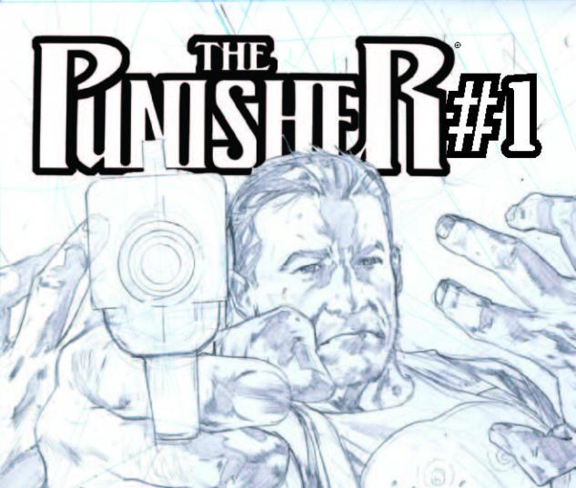 THE PUNISHER 1 2ND PRINTING VARIANT