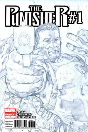 The Punisher (2011) #1 (2nd Printing Variant)