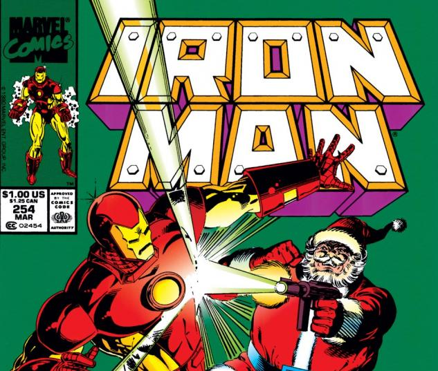 Iron Man (1968) #254 Cover