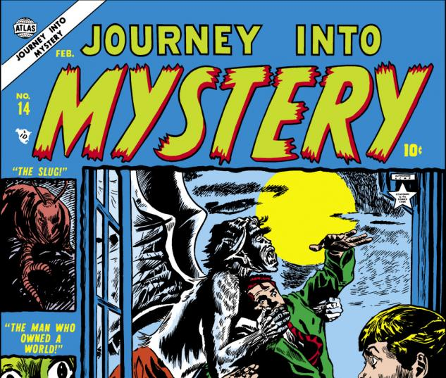 Journey Into Mystery (1952) #14 Cover
