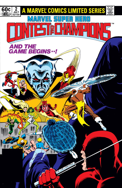 Marvel Super Hero Contest of Champions (1982) #2