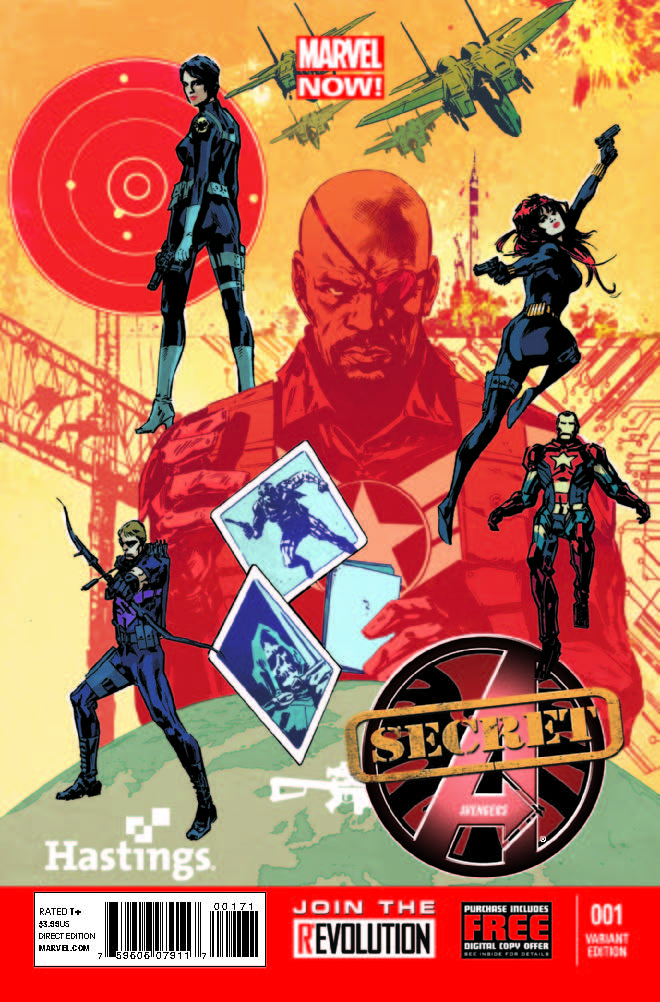 Secret Avengers (2013) #1 (Hastings Variant)