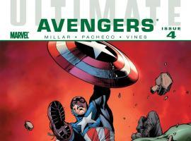 Ultimate Comics Avengers (2009) #4 Cover