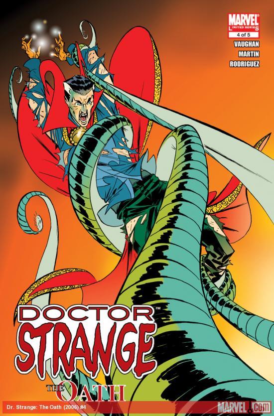 Doctor Strange: The Oath (2006) #4