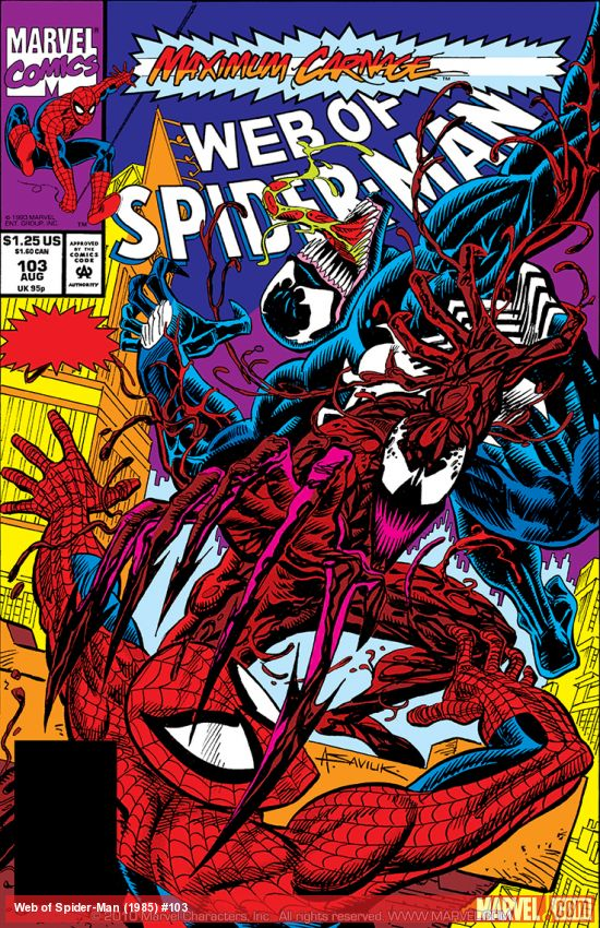 Web of Spider-Man (1985) #103