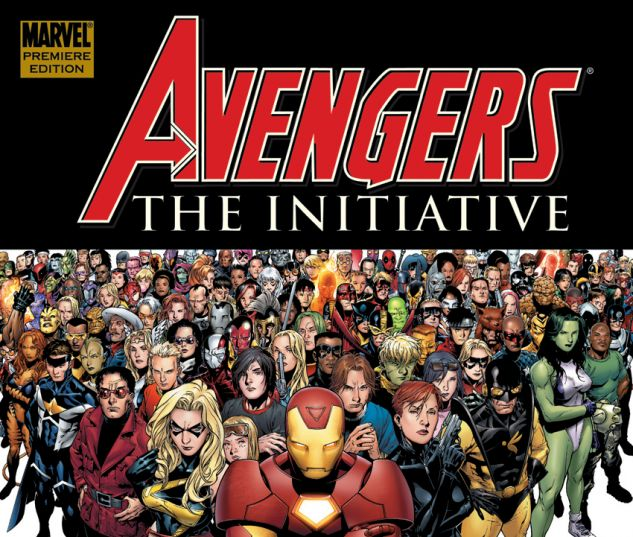 Avengers: The Initiative Vol. 1 - Basic Training Premiere (2007) HC