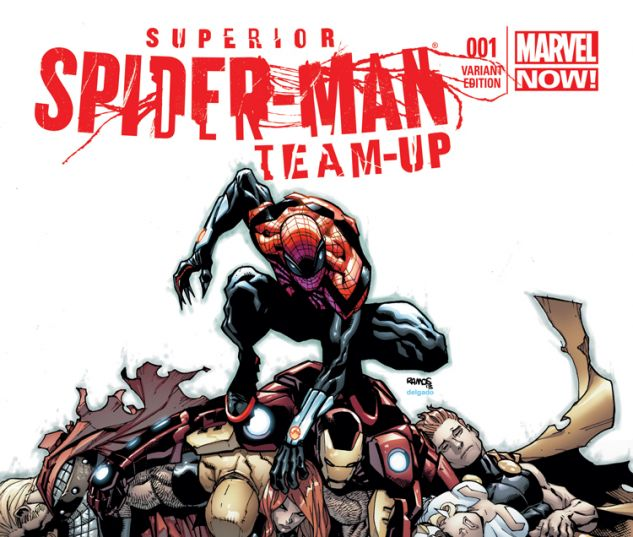 SUPERIOR SPIDER-MAN TEAM-UP 1 RAMOS VARIANT (1 FOR 50, WITH DIGITAL CODE)