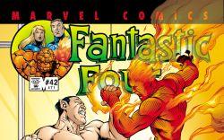 Fantastic Four (1998) #42 Cover