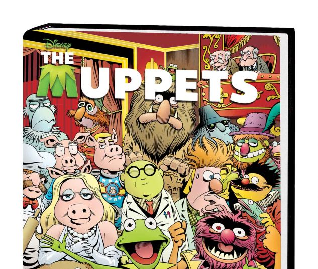 THE MUPPETS OMNIBUS HC LANGRIDGE COVER
