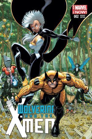 Wolverine & the X-Men (2014) #2 ( ADAMS VARIANT)