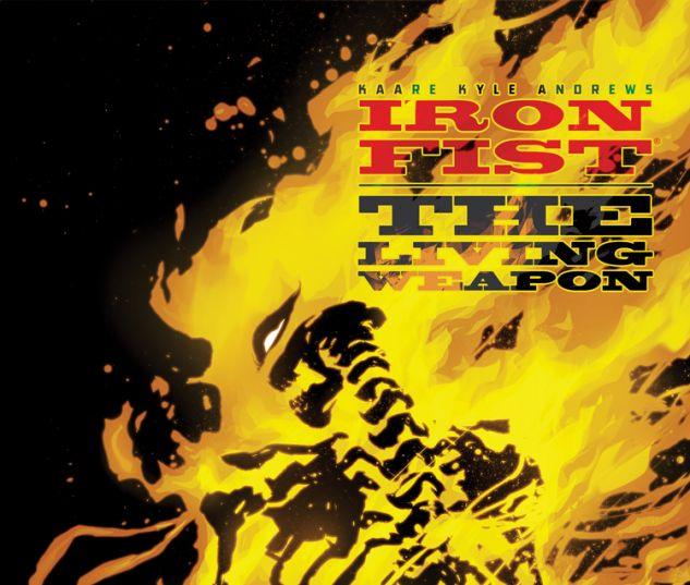 IRON FIST: THE LIVING WEAPON 8 (WITH DIGITAL CODE)