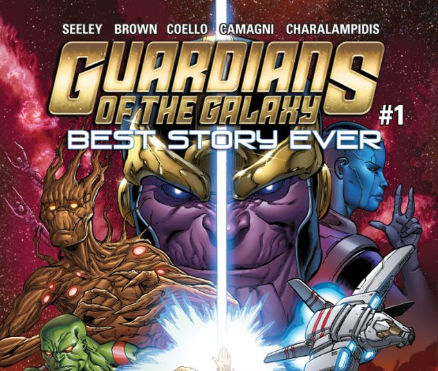 GUARDIANS OF THE GALAXY: BEST STORY EVER 1