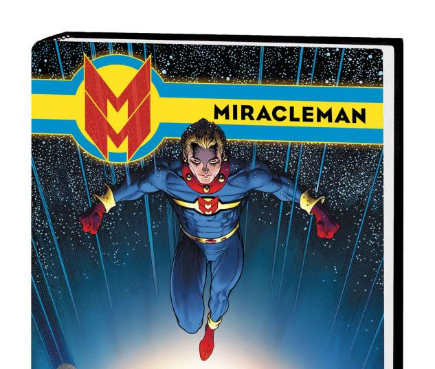 MIRACLEMAN BOOK 3: OLYMPUS PREMIERE HC ADAMS COVER (SDOS)