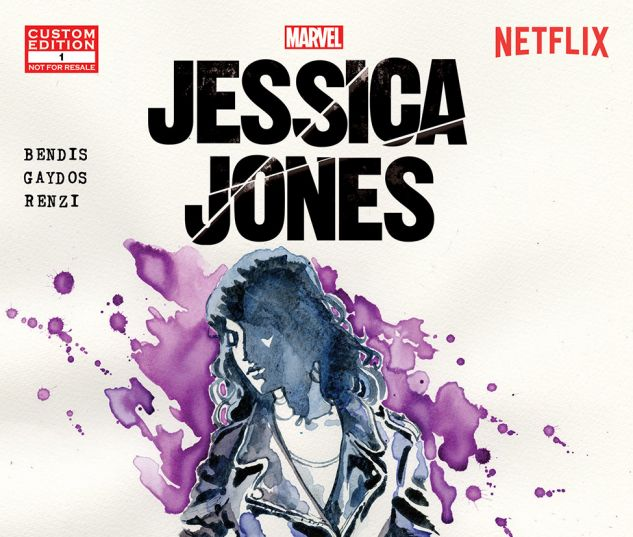 Cover to Marvel's Jessica Jones
