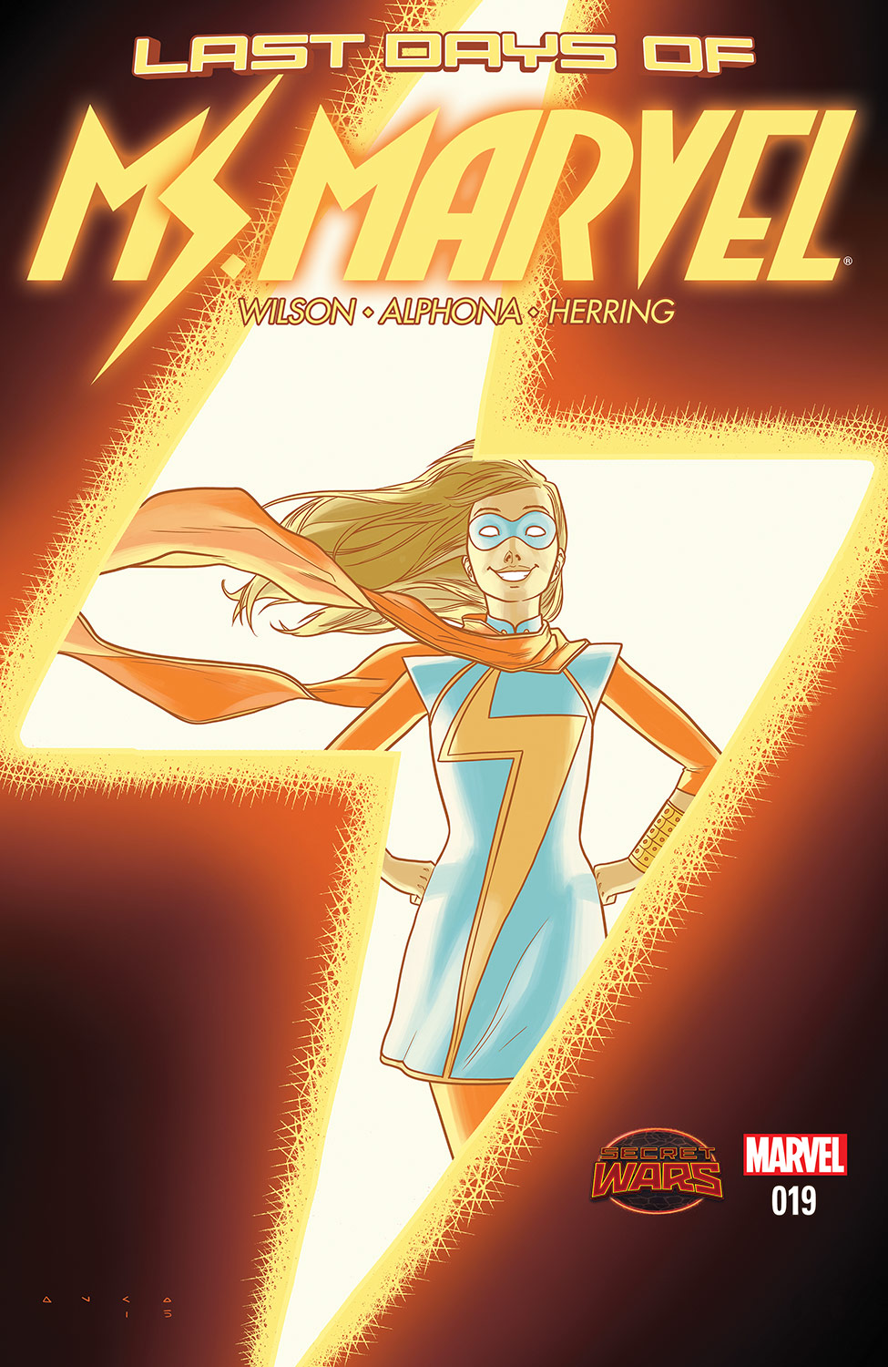 Ms. Marvel (2014) #19