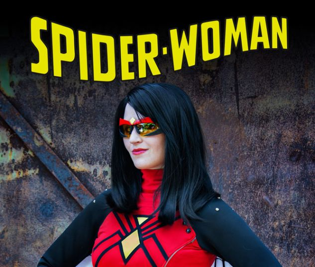 Spider-Woman #1 variant art by Yashuntafun Cosplay