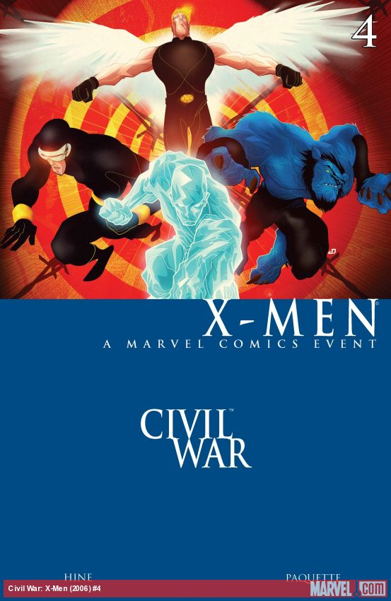 Civil War: X-Men (2006) #4