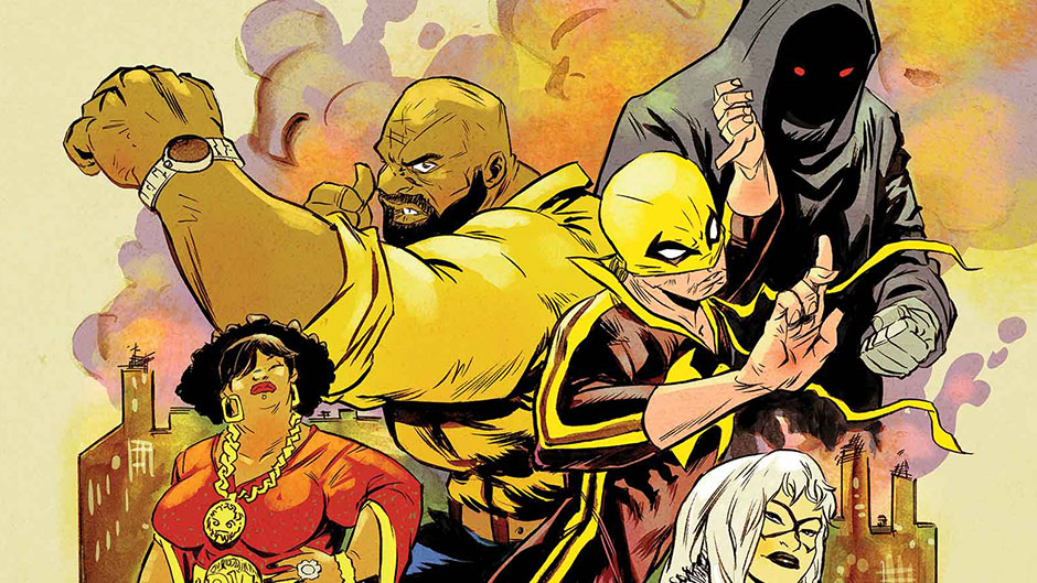Power Man and Iron Fist by Sanford Greene