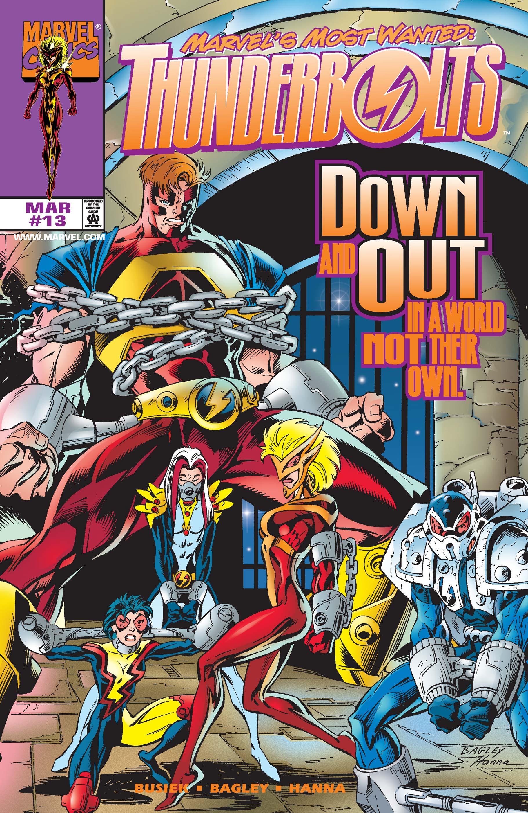 Thunderbolts (1997) #13