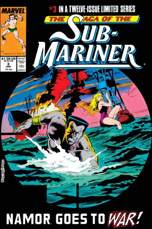 Saga of the Sub-Mariner (1988) #3
