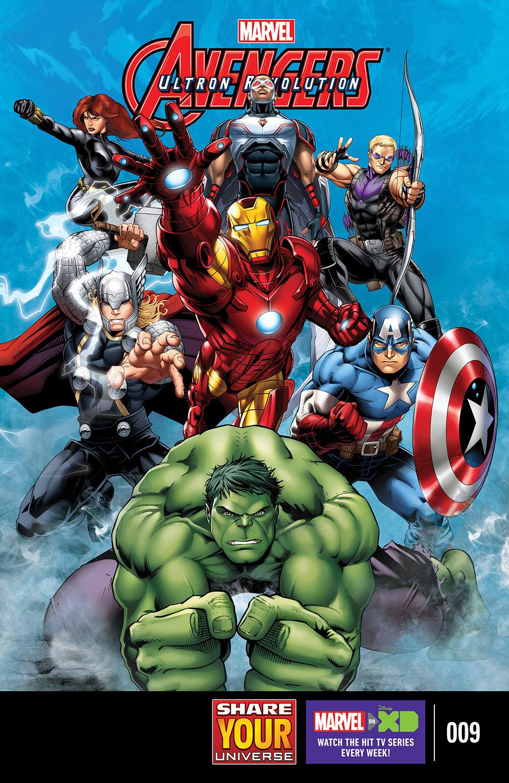 Marvel Universe Avengers: Ultron Revolution (2016) #9