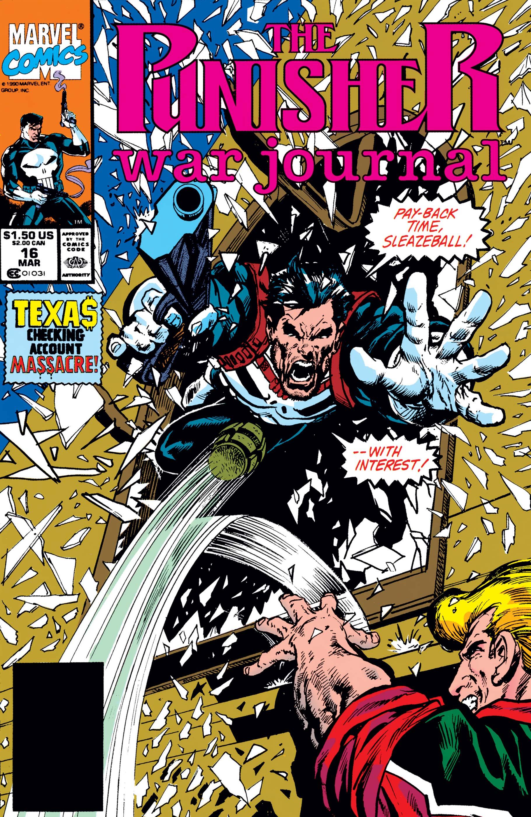 Punisher War Journal (1988) #16