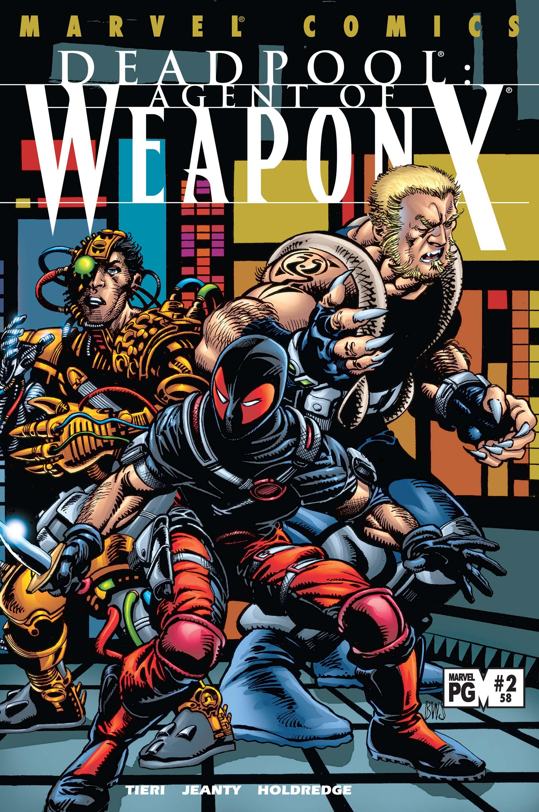 Deadpool (1997) #58