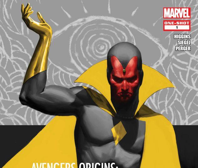 Avengers Origins: Vision (2013) #1