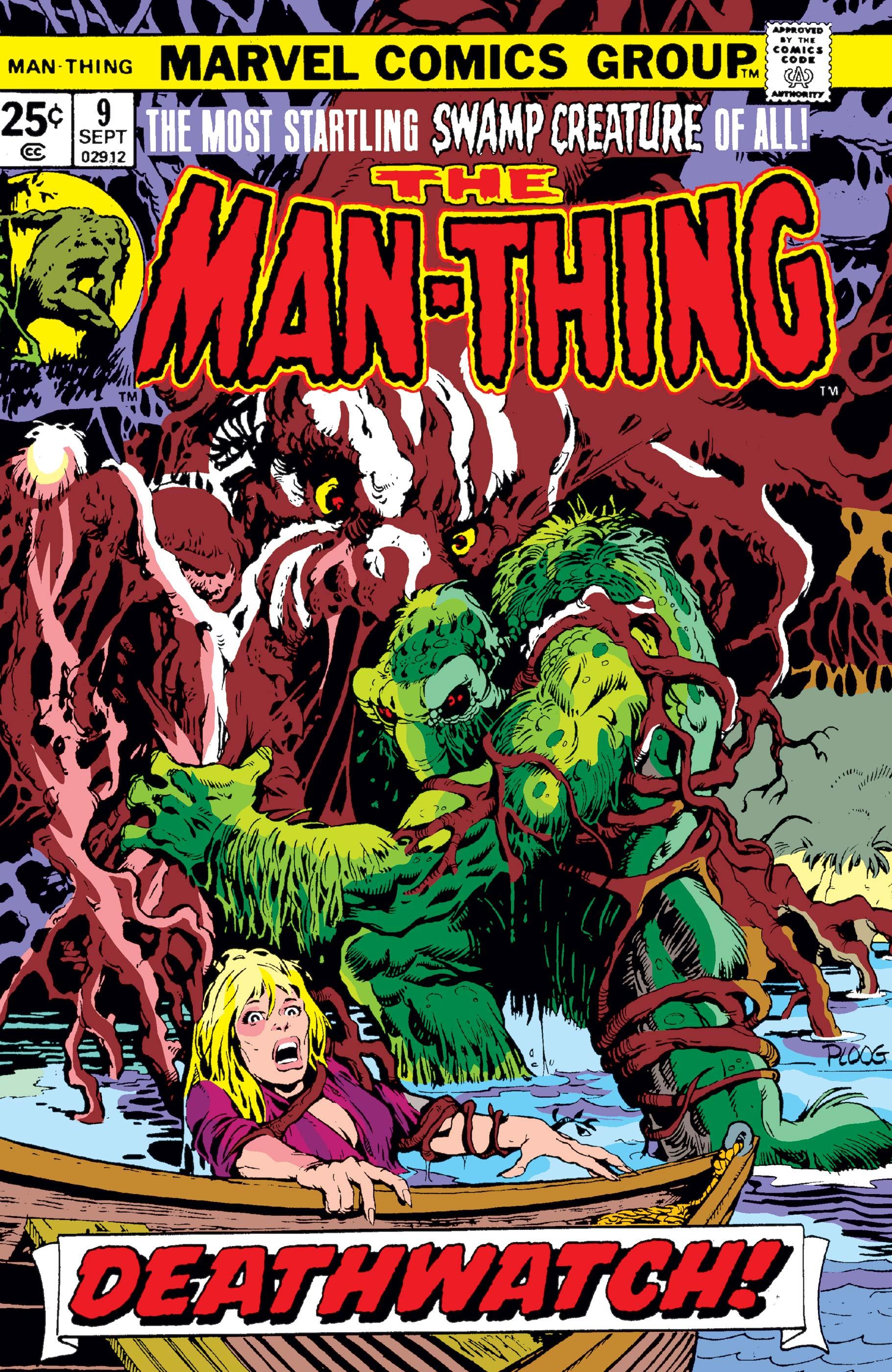 Man-Thing (1974) #9
