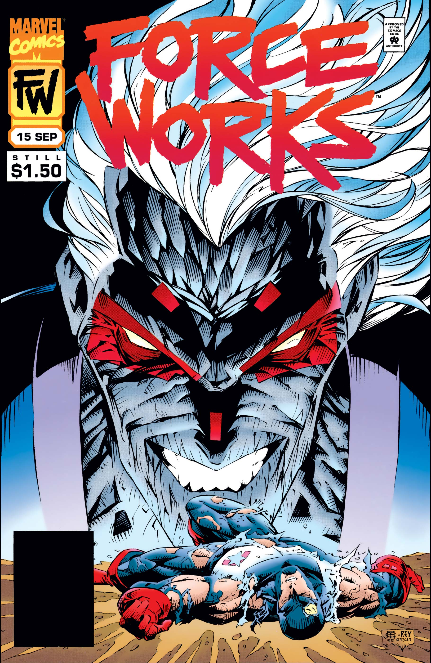 Force Works (1994) #15