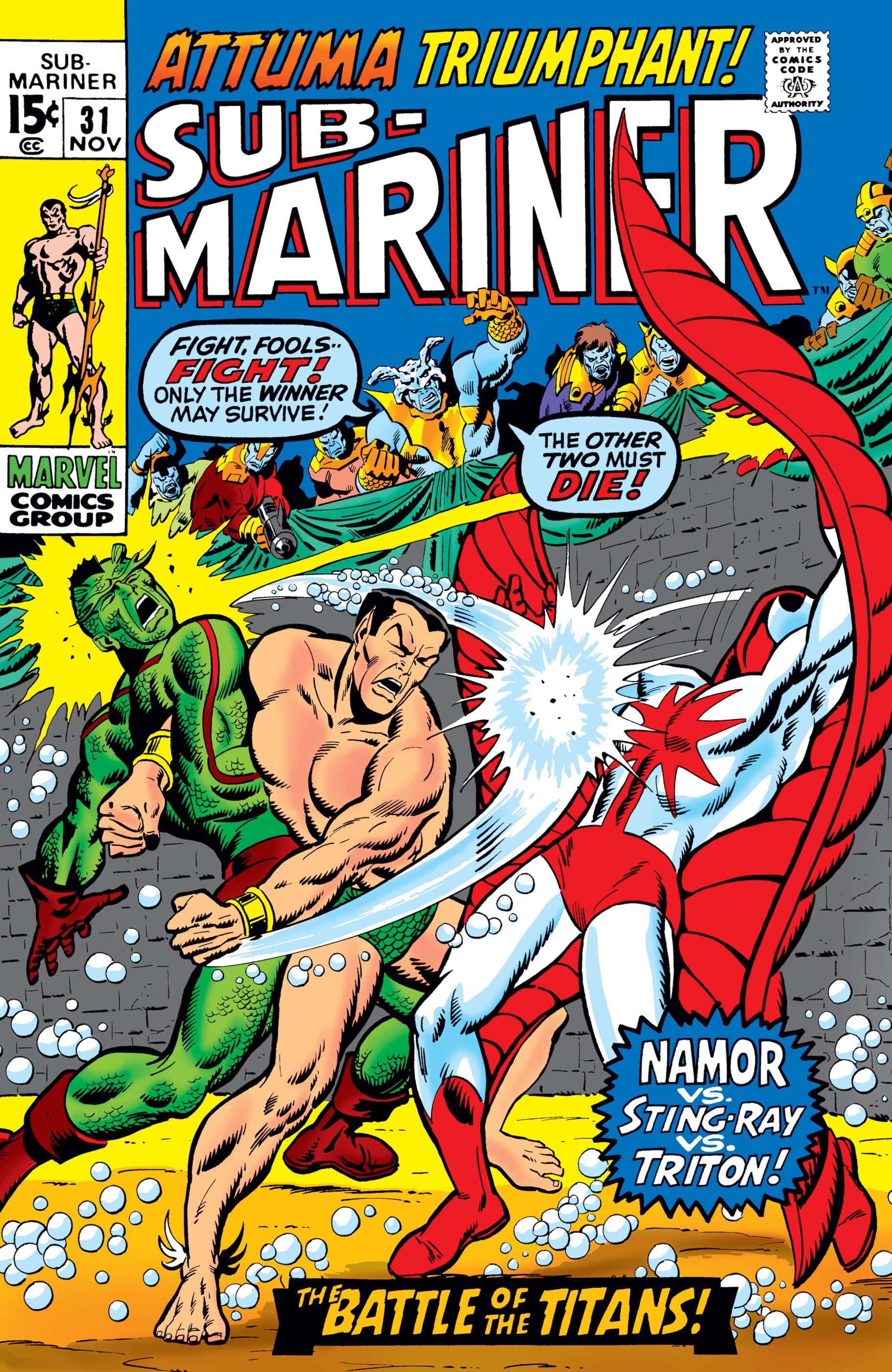 Sub-Mariner (1968) #31