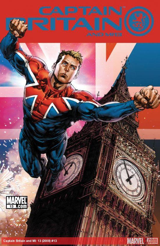 Captain Britain and MI: 13 (2008) #13